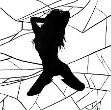 broken silhouette