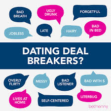 Deal breakers online dating