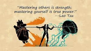 be the master of self