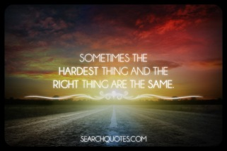 Hardest things_same things